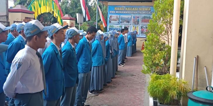 Wajah Siswa Baru SMK Muhammadiyah 1 Trenggalek