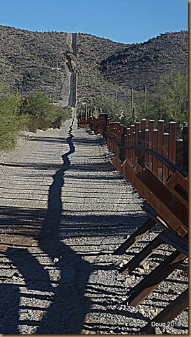 Mexican border fence
