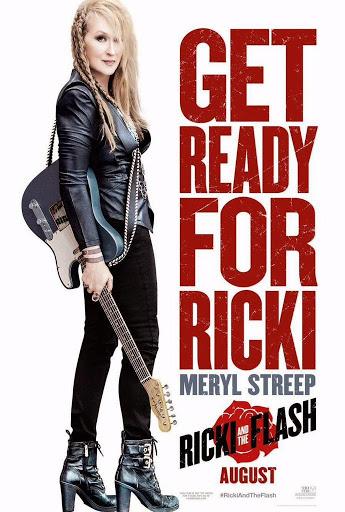 Η Ρίκι και η Ροκ (Ricky And The Flash) Poster