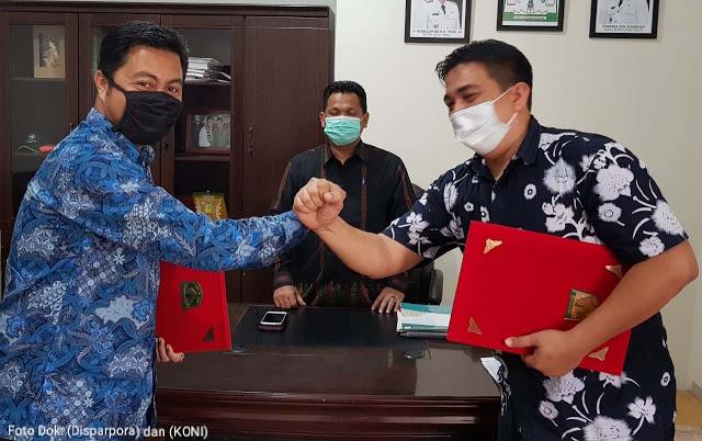 Disparpora Serta KONI Aceh Timur Rangkul Atlet Usia Pelajar Dini