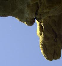 Photo: La Luna della fine di luglio 2008, alcuni giorni prima dell'1 agosto (eclisse totale di Sole)