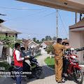 Penyemprotan Disinfektan Dan Pembagian Masker Gratis, Pemerintah Desa Warudoyong