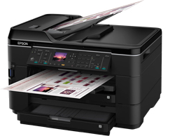 How to download Epson WorkForce WF-7520 printer driver