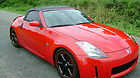 2004 350Z ROADSTER TOURING 6 SPEED RED/BLACK KEYLESS LOW MILES NICE