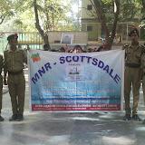 Clean hussain sagar lake rally done by Kukatpally branch