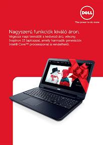 Dell karácsonyi marketing anyag és reklám plakát tervezés.