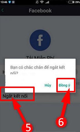Hướng dẫn đăng xuất tài khoản Bigo Live trên điện thoại cài Android + HÌnh 10