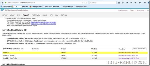 SAP HANA Cloud Platform Connecting via Command Line | SAP