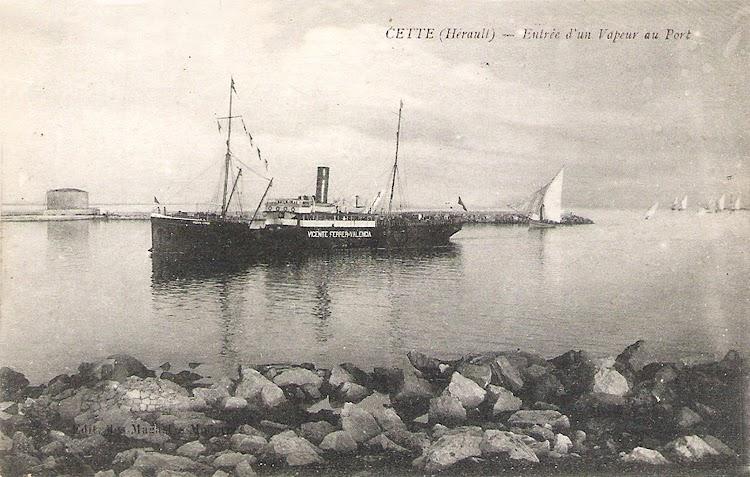 10- Entrando en Cette. Ca. 1917. Colección Jaume Cifre Sanchez.jpg