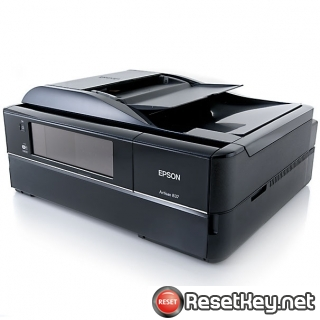 Resetting Epson Artisan 837 printer Waste Ink Counter