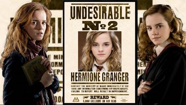 Há exatamente 24 anos, o nome de Hermione Granger era listado no profeta diário