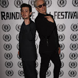 OIC - ENTSIMAGES.COM - Craig Roberts and Elliot Grove at the Opening of Raindance Film Festival  in London on the 24th August 2015. Photo Mobis Photos/OIC 0203 174 1069