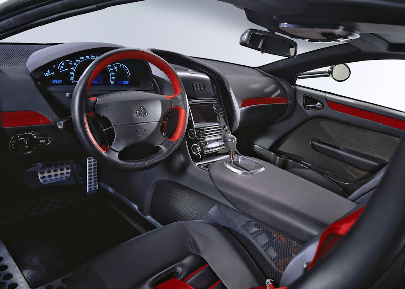 Mercedes-Benz Maybach Exelero Interior Looks