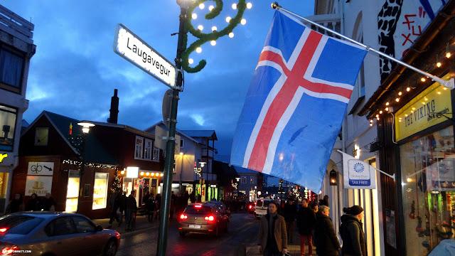 shopping in Reykjavik in Reykjavik, Hofuoborgarsvaeoi, Iceland