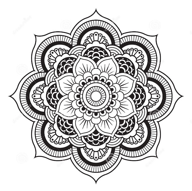 Circles Are At The Heart Of Mandala Plans Regardless Of The Fact That  Square