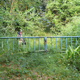 Porte d'entrée d'Atewa Range Forest Reserve (Atiwa-Atwaredu Range, Ghana), 22 décembre 2013. Photo : J.-F. Christensen