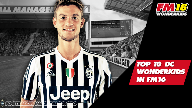 Top 10 Defender Center Wonderkids in FM16