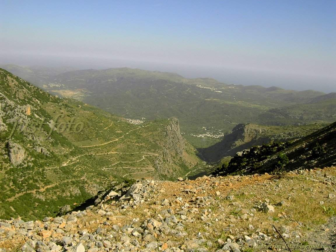 Крит горные пейзажи фото