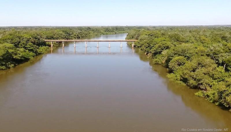 Rio Cuiabá em Rosário Oeste