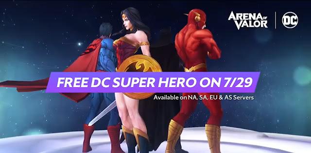Ücretsiz DC Kahramanı İsteyenler Buraya - Arena of Valor