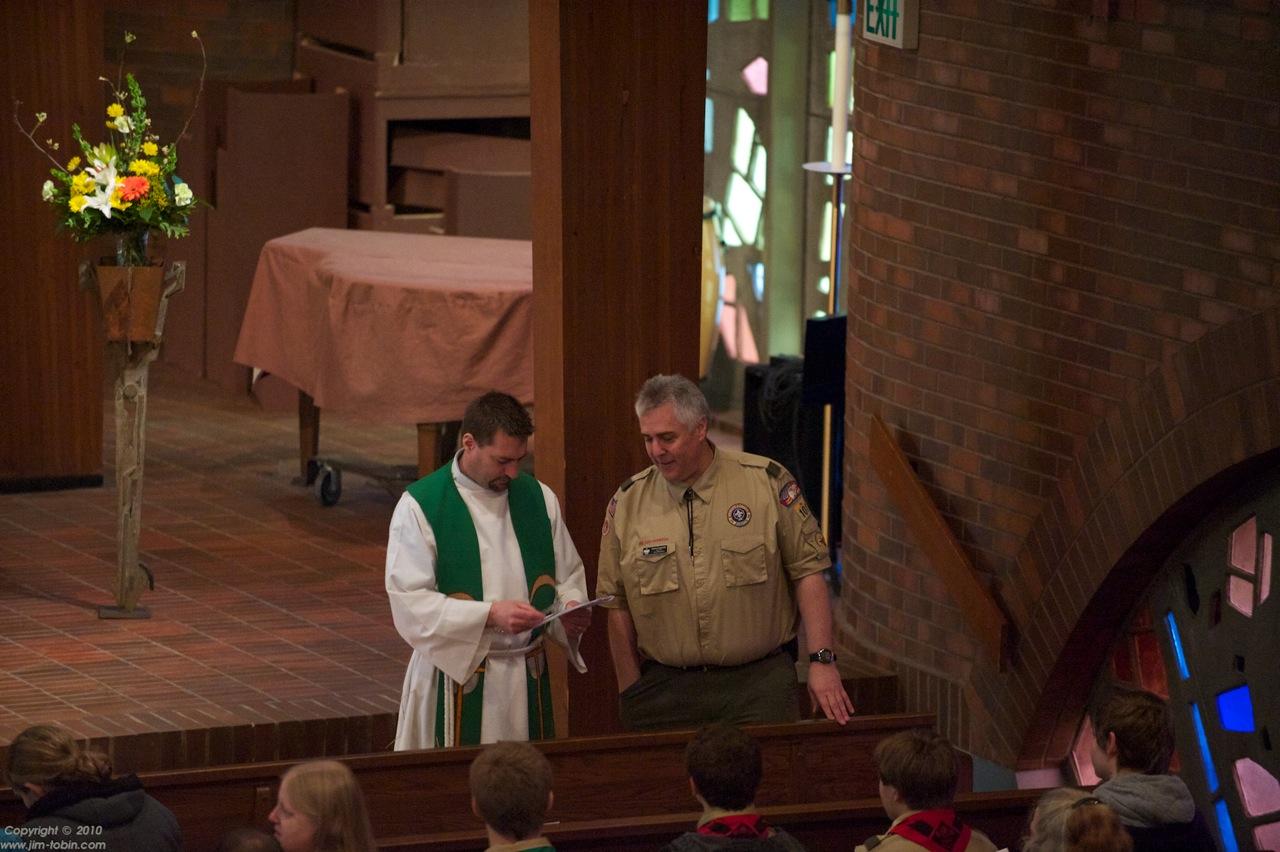 Dennis and Pastor Doug