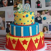Cirque de Soleil parents celebrate our 20th Birthday