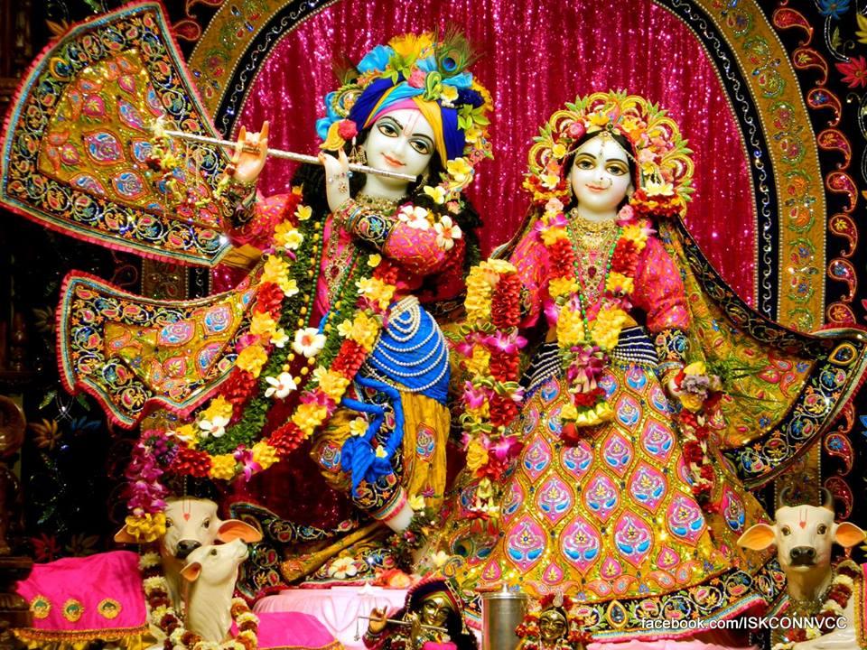 ISKCON Pune Deity Darshan 21 Dec 2015  (1)