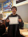 Julian Jimenez, APD Student Highlight September 2014