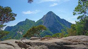 청명산 하늘의 북한산 종주 : 2016-05-14
