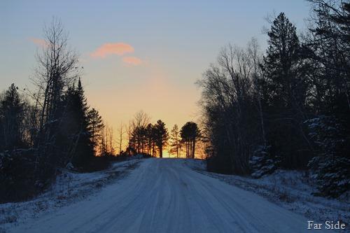 Sunsetting near Guyles lake