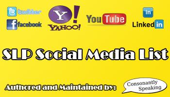SLP Social Media List