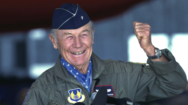 BREAKING: Legendary U.S. Air Force Pilot Chuck Yeager Dies At 97