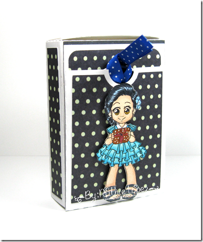 Zuri Artsy Craftsy -  Beatriz - Gift card box with pocket easel card - Ruthie Lopez 3
