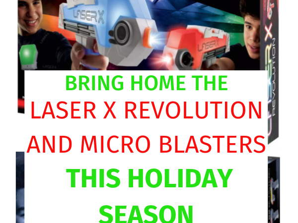 Bring Home the Laser X Revolution and Micro Blasters this Holiday Season