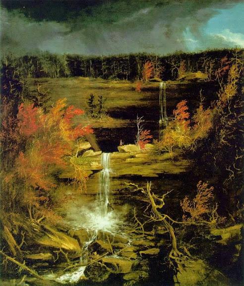 Thomas Cole - Falls of Kaaterskill.