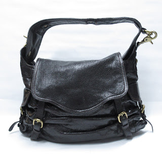 Kooba Leather Hobo Shoulder Bag