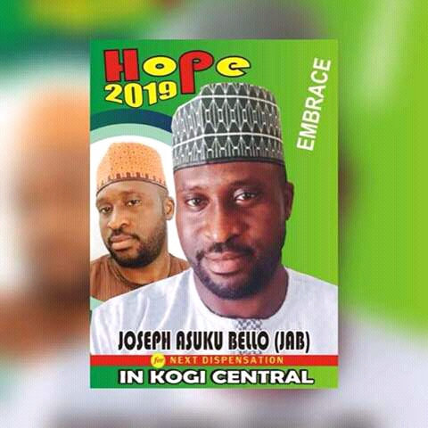 Sponsored: Lets Change Our Present State Of Been Stagnant, Let Make A Wise Move.... Vote JOSEPH ASUKU BELLO