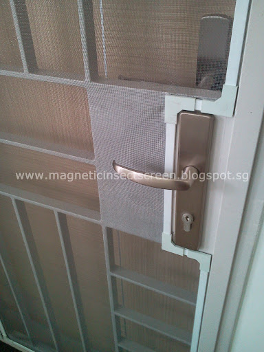 diy magnetic insect screen singapore installation on 07 06 2012 hdb 4 room. Black Bedroom Furniture Sets. Home Design Ideas