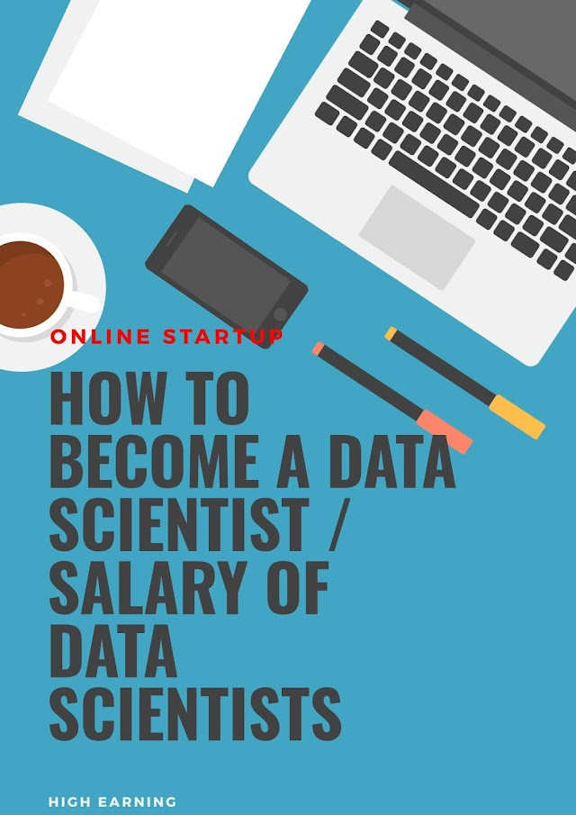 How to Become a Data Scientist/Salary [2021 Update]
