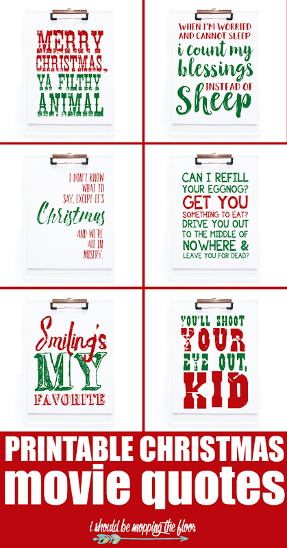 printable christmas movie quote