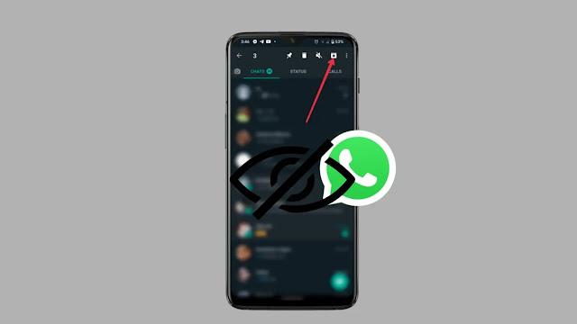 طريقة  إخفاء جهات الاتصال والمحادثات والمكالمات على واتساب
