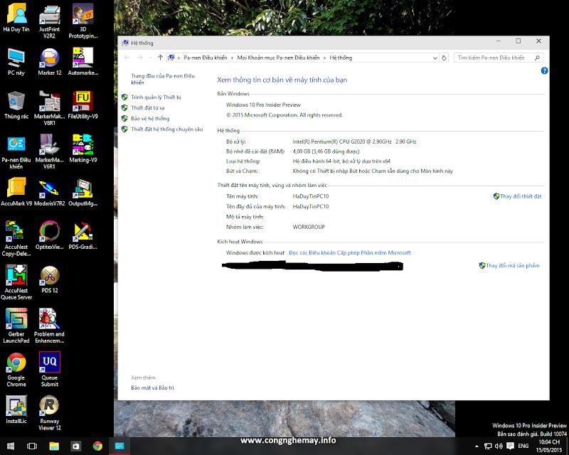 Cài Đặt Lectra-Gerber-Optitex-StyleCad Trên Windows10 X64bit 2