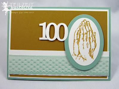 Stampin' Up! - In{k}spire_me #204, Praying Hands, Birthday, Geburtstag, 100, InColors