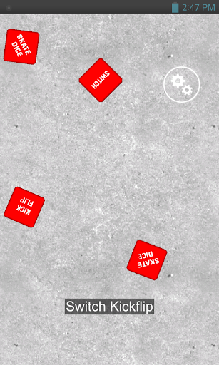 3D Skate Dice 1.0 screenshots 1