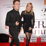WWW.ENTSIMAGES.COM -   Emrhys Cooper  from Desperate Housewives and sister Fleur Cooper    at     Valeriya in concert at the Royal Albert Hall  October 21st 2014                                                 Photo Mobis Photos/OIC 0203 174 1069