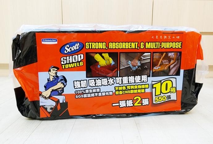 2 Costco 必買物 金百利 SCOTT 萬用超強吸力紙抹布