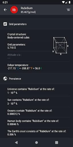 Periodic Table 2020 - Chemistry screenshot 3