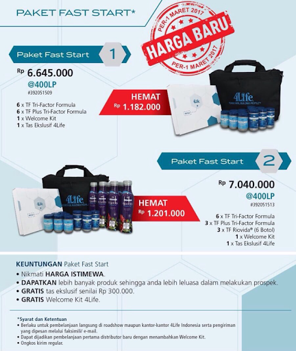 paket fast start paket diamond