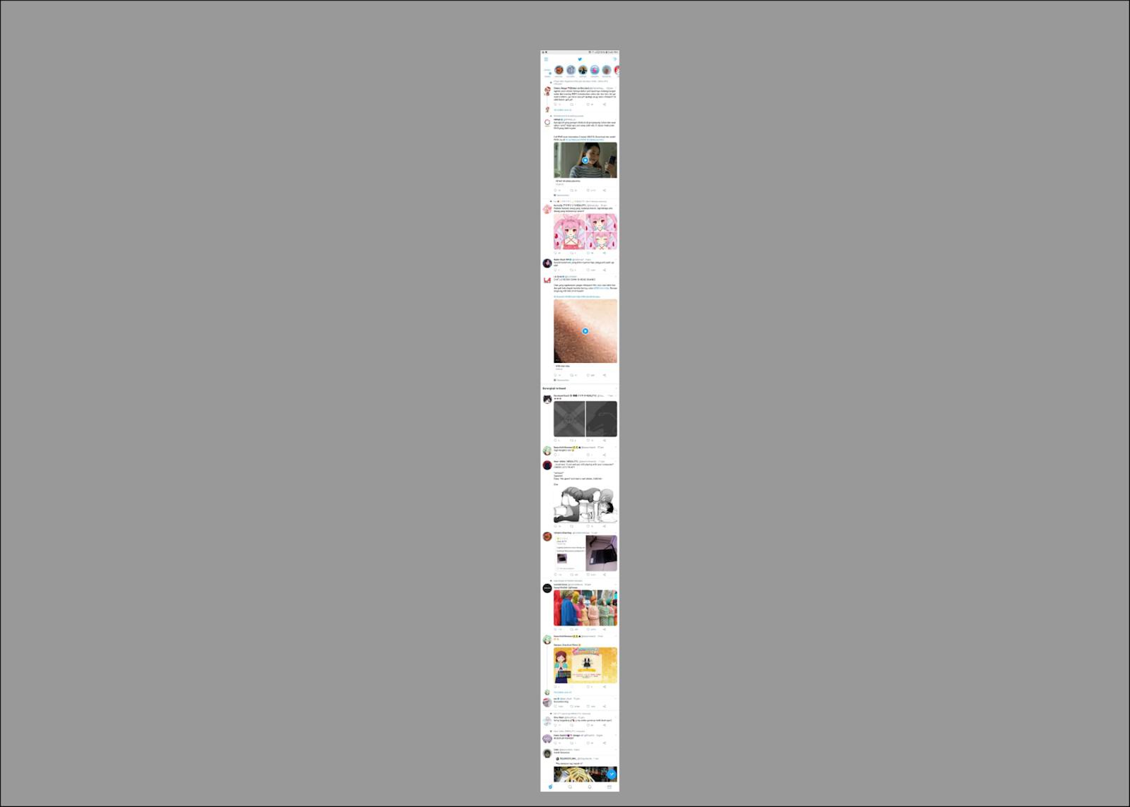 Cara Membuat SS (ScreenShot) Panjang di Android