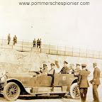 Paul von Hindenburg and Admiral Schröder visiting the the Seaplane station at Zeebrugge
